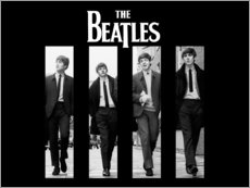 Naklejka na ścianę  The Beatles - Entertainment Collection