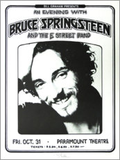 Obraz na PCV  Bruce Springsteen - E Street Band - Entertainment Collection