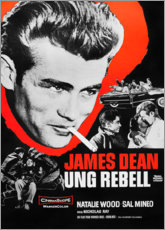 Obraz na aluminium  Rebel Without a Cause - Entertainment Collection