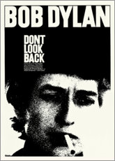 Obraz na aluminium  Bob Dylan - Don't Look Back - Entertainment Collection