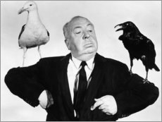 Plakat Alfred Hitchcock, the birds