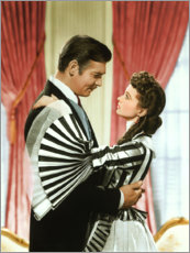 Plakat Gone with the wind