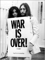 Obraz na płótnie  Yoko & John - War is over!