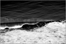 Plakat Wave  Black and White