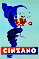 Plakat  Cinzano - Prost - Advertising Collection