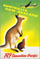 Obraz na płótnie  Australia, New Zealand - Travel Collection