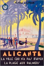 Plakat  Alicante (French) - Travel Collection