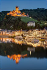 Plakat Cochem in the evening