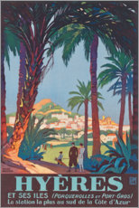 Gallery print  Hyeres (French) - Travel Collection