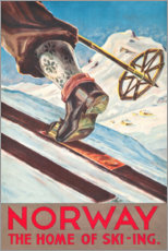 Plakat  Norway (English) - Travel Collection