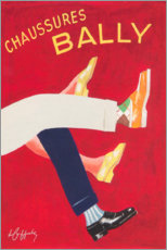 Obraz na szkle akrylowym  Bally shoes (french) - Advertising Collection