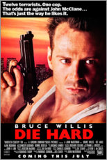 Gallery print  Die Hard (English) - Entertainment Collection