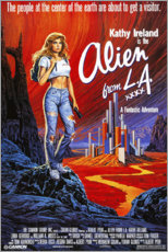 Naklejka na ścianę  Alien from L.A. - Entertainment Collection
