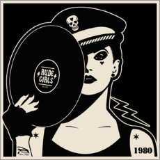 Gallery print  Rude Girls Records I - dolceQ