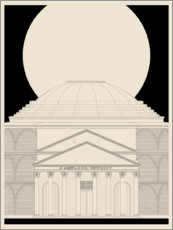 Gallery print  Pantheon - dolceQ