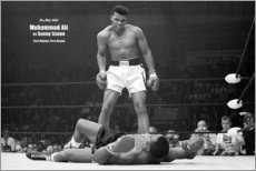 Obraz na aluminium  Boxing legend, Mohammed Ali - Celebrity Collection