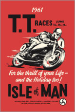 Plakat  TT races - Advertising Collection
