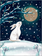 Plakat Greetings from the hare