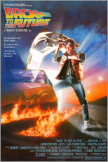 Gallery print  Back to the future - Entertainment Collection
