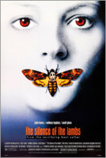Plakat The Silence of the Lambs