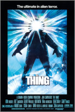 Obraz na drewnie  The Thing - Entertainment Collection