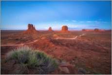 Plakat Monument Valley in the sunset