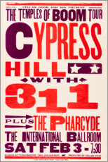 Obraz na płótnie  Cypress Hill, With 311, Concert 1996 - Entertainment Collection