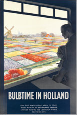 Obraz na PCV  Holland, Tulip time - Travel Collection