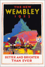 Obraz na płótnie  The new Wembley 1925 - Gregory Brown