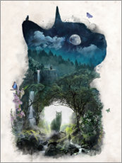 Gallery print  The Cat Realm - Barrett Biggers