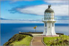 Plakat Meeting point of two oceans, Cape Reinga