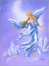 Gallery print  Crystal angel - Marita Zacharias