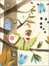 Gallery print  Little adventurer - Judith Loske