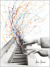 Obraz na szkle akrylowym  The Keyboard Solo - Ashvin Harrison