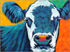 Plakat Colorful Country Cows I