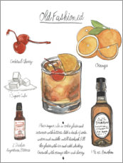 Plakat Classic Cocktail - Old Fashioned
