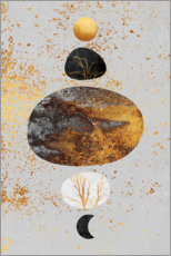 Gallery print  Sun And Moon - Elisabeth Fredriksson