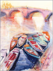 Plakat Boats on the Seine