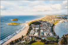 Plakat  View over New Plymouth - Igor Kondler