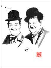 Plakat Laurel and Hardy
