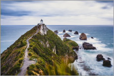 Plakat  Nugget Point Lighthouse in New Zealand - Igor Kondler