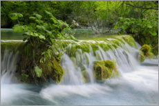 Plakat Waterfall in the fairy forest