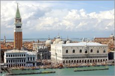 Gallery print  St. Mark's Square on the Grand Canal - Lynn Seldon