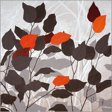 Gallery print  Autumn leaves III - Franz Heigl