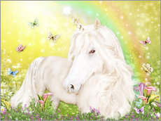 Naklejka na ścianę  Unicorn of Happiness - Dolphins DreamDesign