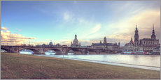 Gallery print  Dresden, as viewed by Canaletto earlier - Steffen Gierok