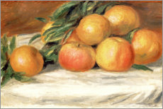 Gallery print  Still Life with Apples and Oranges - Pierre-Auguste Renoir