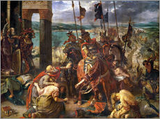 Gallery print  The conquest of Constantinople by the crusaders - Eugene Delacroix