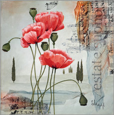 Gallery print  Poppies - Franz Heigl
