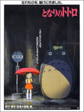 Obraz na PCV  Mój sąsiad Totoro (japoński) - Entertainment Collection